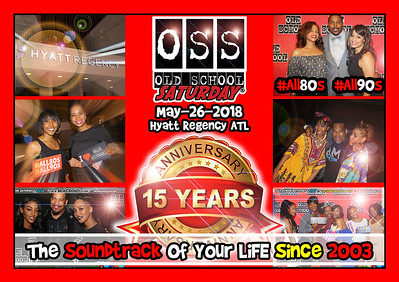 Join us May-26-2018 for our next event :::: 15 Year Anniversary at The Hyatt --- with guest: DJ NABS ---- tickets selling now:  www.oldschoolsaturday.com