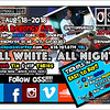 """Our annual """"ALL WHITE. ALL NIGHT"""" event ::: Hyatt Regency --- Aug.18.2018 :::: Tickets and VIP Tables -> oldschoolsaturday.com"""