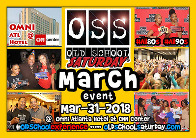Join us Mar-31-2018 at The Omni ATL Hotel at CNN Center.  Tickets and VIP Tables are selling now:  www.oldschoolsaturday.com