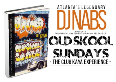 "@djnabsinlab will be at OSS May.26.2018 ——> Check out DJ Nabs' book #OldSkoolSundays - The Club Kaya Experience ——— ""Thank goodness I managed to keep just about everything from Old Skool Sundays,"" said DJ Nabs, author of ""Old Skool Sundays – The Club Kaya Experience."" ""I held onto photographs, flyers, you name it. This book really is a time capsule of an era we'll never see again."" In the late 1990s just before the city's full-on hip-hop and rap explosion, Old Skool Sundays lit the spark. The brainchild of DJ Nabs, this legendary weekly music event at Club Kaya in Midtown Atlanta became the place to be, helping launch the careers of Jay Z, Ludacris, and others. Simultaneously, old school superstars from the Sugarhill Gang to Kurtis Blow regularly rocked the house. Of course, DJ Nabs served as ringmaster, helming the decks. ""I'm grateful for the opportunity to share Atlanta music history with generations to come,"" DJ Nabs explained. ""Our city's hip-hop story continues, and I'm proud to have been a part of such an exciting chapter."" For more information about ""Old Sundays – The Club Kaya Experience"" or to purchase the limited edition book, visit: www.themaddj.com"