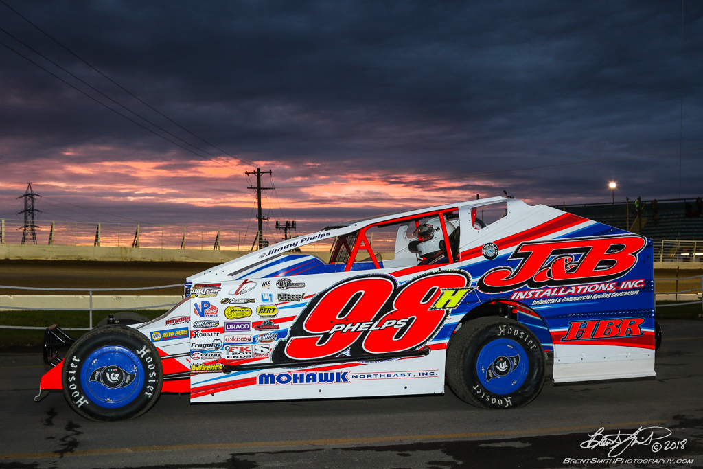 Camping World 150 - NAPA Auto Parts Super DIRT Week XLVII - Oswego Speedway - 98h Jimmy Phelps