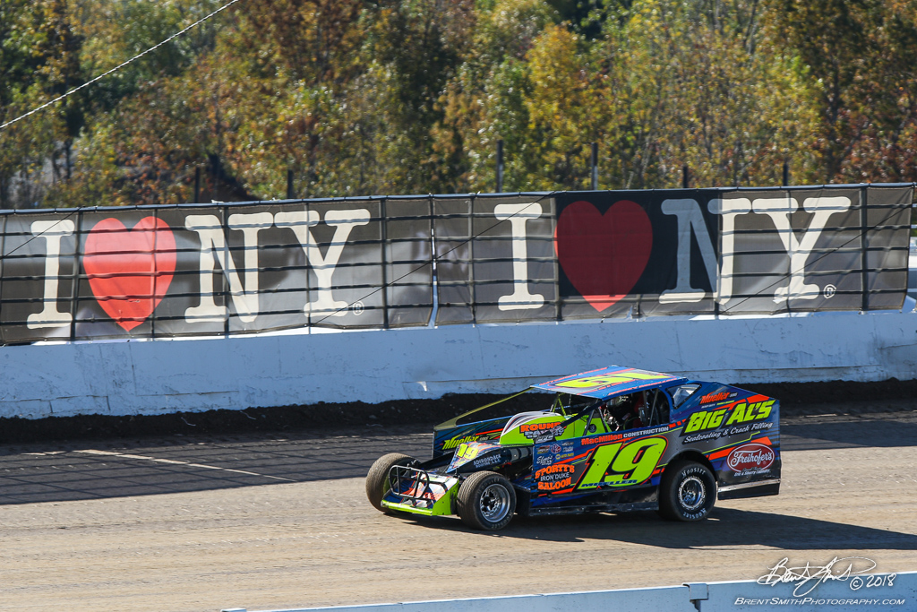 Camping World 150 - NAPA Auto Parts Super DIRT Week XLVII - Oswego Speedway - 19m Jesse Mueller
