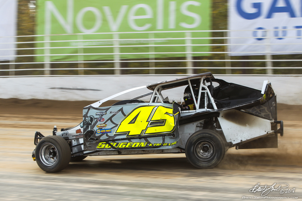 Camping World 150 - NAPA Auto Parts Super DIRT Week XLVII - Oswego Speedway - 45g Sebastien Gougeon