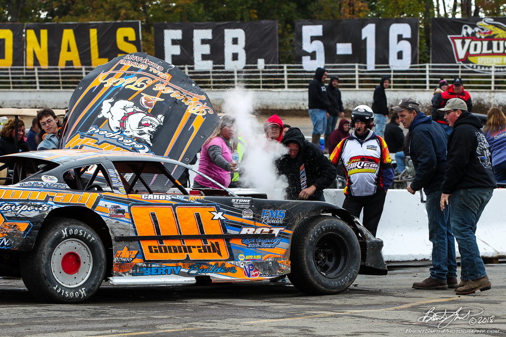 DIRTcar Pro Stock 50 - NAPA Auto Parts Super DIRT Week XLVII - Oswego Speedway - 00x Joshua Coonradt