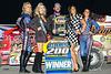 Billy Whittaker Cars 200 - NAPA Auto Parts Super DIRT Week XLVII - Oswego Speedway - 99L Larry Wight