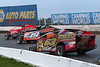 Billy Whittaker Cars 200 - NAPA Auto Parts Super DIRT Week XLVII - Oswego Speedway - 63 Adam Roberts, 19 Tim Fuller, 5H Chris Hile
