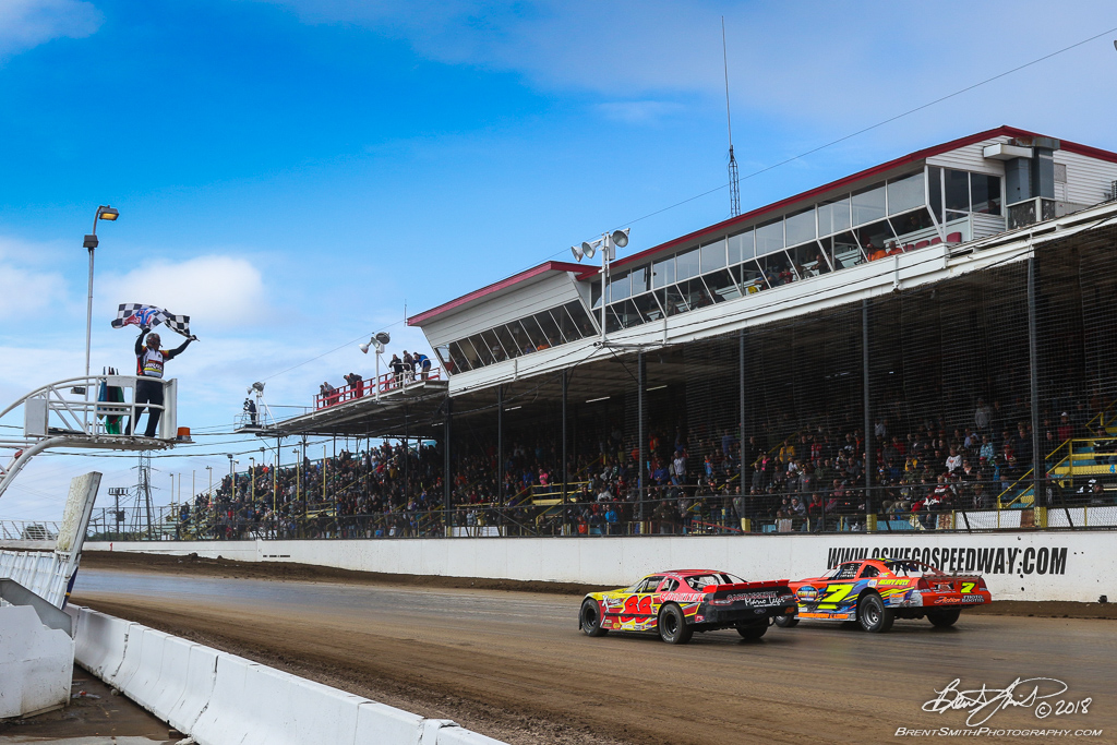 DIRTcar Pro Stock 50 - NAPA Auto Parts Super DIRT Week XLVII - Oswego Speedway - 88 CD Beauchamps, 7d Chucky Dumblewski