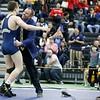 PHS CT State Open Wrestler Champion celebrates Coach McCarty