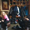 A well deserved rest after the hill closes. Sam and her mom Christine have not been on ski's for 8 years.