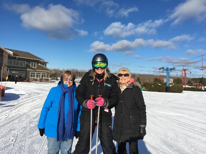 Sharon, Samantha and Marijo  (Is Sharon and Marijo short or Sam just tall)