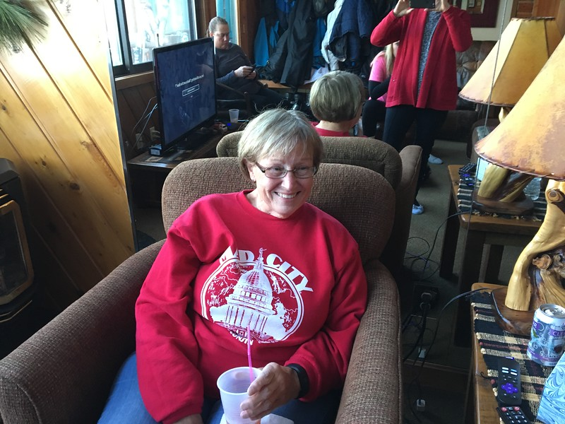 Sharon-  our organizer of this entire event.