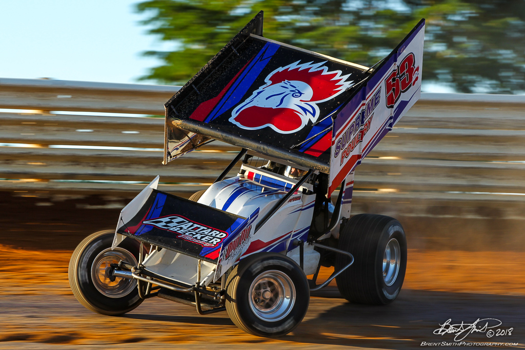 PA Sprint Car Speedweek - Port Royal Speedway - 53 Jessie Attard