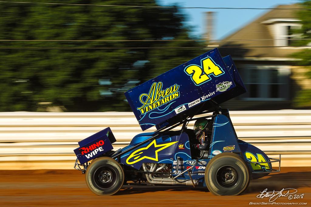 PA Sprint Car Speedweek - Port Royal Speedway - 24 Rico Abreu