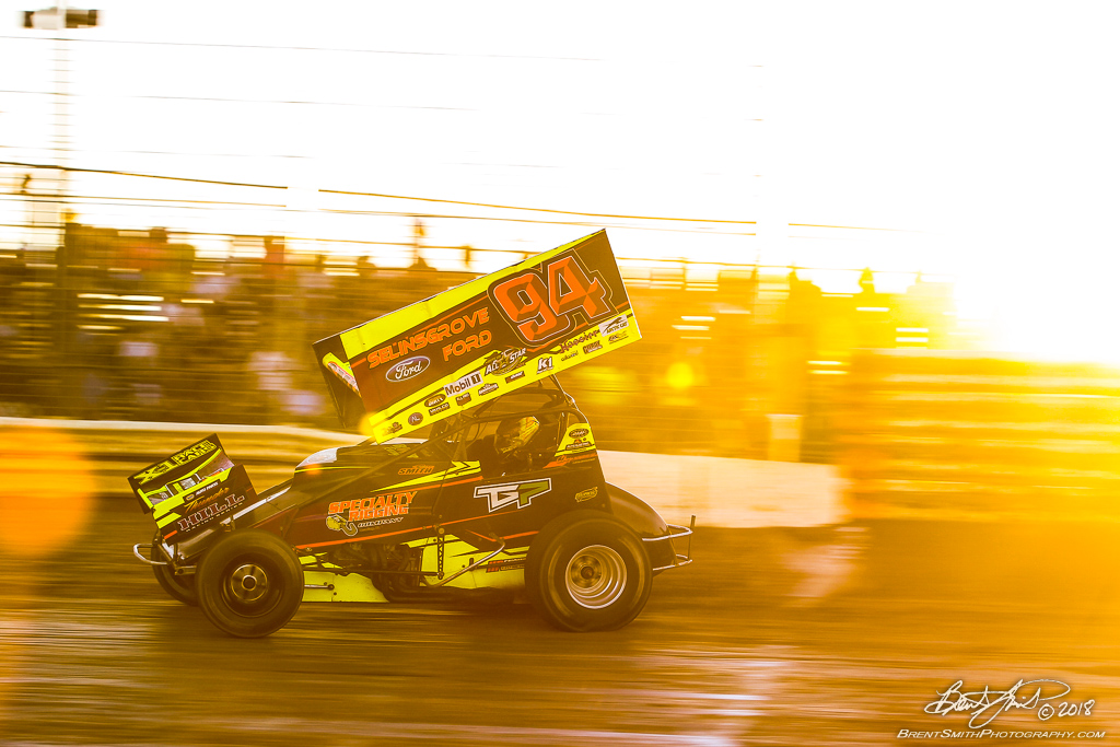 PA Sprint Car Speedweek - Port Royal Speedway - 94 Ryan Smith