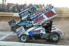 PA Sprint Car Speedweek - Port Royal Speedway - 33 Jared Esh, 20 Ryan Taylor