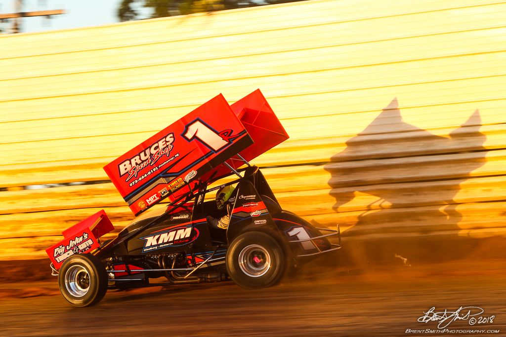 PA Sprint Car Speedweek - Port Royal Speedway - 1R Kyle Reinhardt