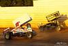 PA Sprint Car Speedweek - Port Royal Speedway - 17b Steve Buckwalter,27 Greg Hodnett