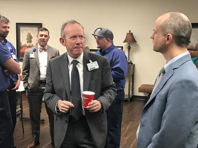 Patrick McCruden Farewell Reception (Jan. 2018)