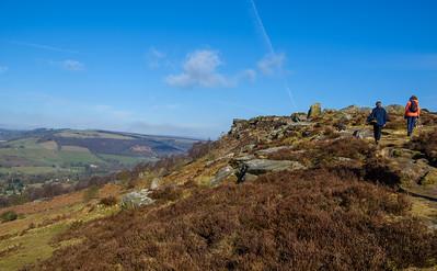 Peak District Day 2: Curbar Edge