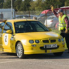 Ecobat Pegasus Sprint - 20th Oct. 2018<br /> Entry No. 2 - Andrew Till, MG ZR105<br /> Picture: Duncan Shepherd