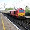 67018 0555/5z85 Wembley-Letchworth ECS passing Welwyn North