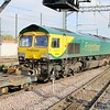 66504 0808/4E62 Felixstowe-Doncaster passes Peterborough