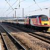 43314_43311 0738/1A04 Leeds-Kings Cross arrives at Peterborough