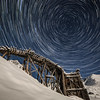 """The whole universe revolves around Hatcher Pass as the moon lights up the snowy winter landscape.<br /> <br /> See the behind the scenes here: <a href=""""http://www.morffed.com/2018/Photo-A-Month-Behind-The-Scenes/i-dRzd5ZN/A"""">http://www.morffed.com/2018/Photo-A-Month-Behind-The-Scenes/i-dRzd5ZN/A</a>"""