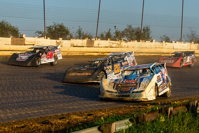 Chub Frank (1*), Ricky Thornton, Jr. (20RT), Darrell Lanigan (14), Earl Pearson, Jr. (1) and Colton Flinner (48)