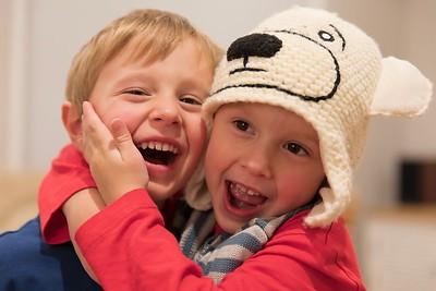 Best Friends Forever (Sebastian Left & Orlando Right age 3 Years 11 Months)