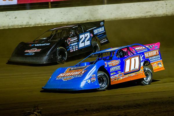 Eddie Carrier, Jr. (10) and Gregg Satterlee (22)