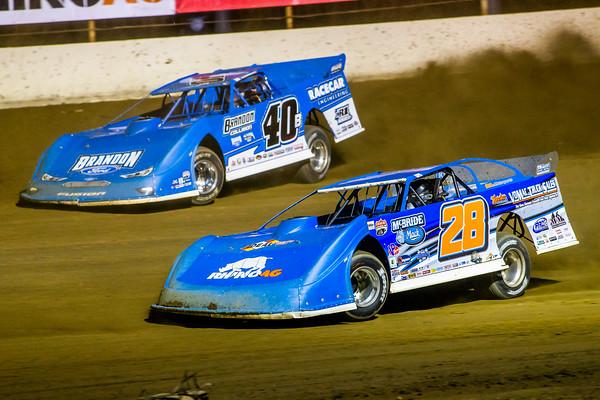 Dennis Erb, Jr. (28) and Kyle Bronson (40B)