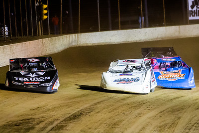 Dale McDowell (17M), Zack Dohm (17) and Eddie Carrier, Jr. (10)