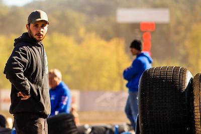 Best Performance Motorsports crew member Brad Ramsey