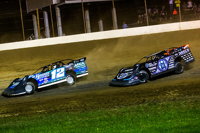 Jason Jameson (12) and Scott Bloomquist (0)