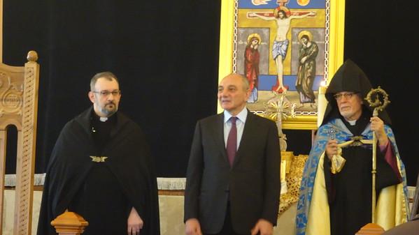 President of Artsakh visit 2018