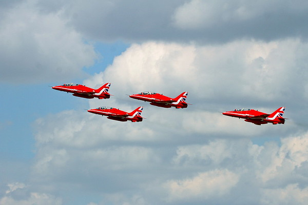 Red Arrows Fairford 12/07/18