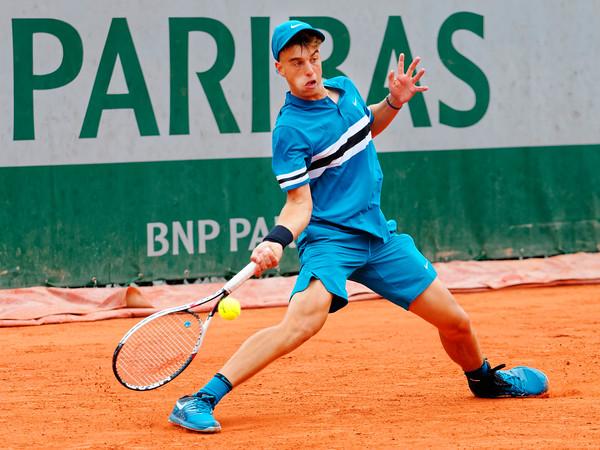 01.01a Adrian Andreev - Roland Garros juniors 2018