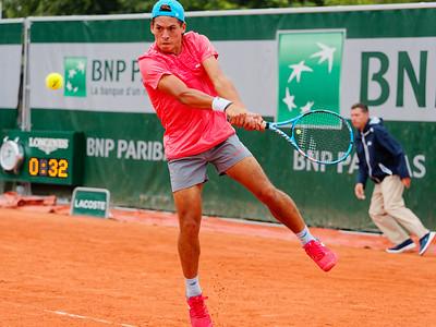 01.04a Sebastian Baez - Roland Garros juniors 2018