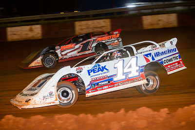 Darrell Lanigan (14) and Jason Hiett (1)