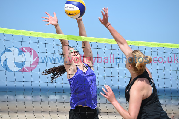 St Andrews Beach Volleyball Championships, West Sands, 7 July 2018.  © Lynne Marshall  https://www.volleyballphotos.co.uk/2018/SCO/Beach/St-Andrews-Beach-Volleyball-Championships/