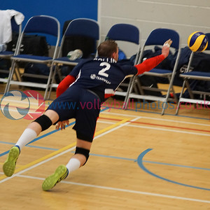 2018-03-10 Cup & Plate Semi-Finals - Volleyball Photos