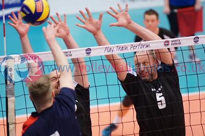 City of Edinburgh II v Mets Vets, 2018 Men's Scottish Plate Final, University of Edinburgh Centre for Sport and Exercise, Sat 21st Apr 2018.  © Michael McConville   https://www.volleyballphotos.co.uk/organize/2018/SCO/Cups/2018-04-21-Mens-Plate-Final