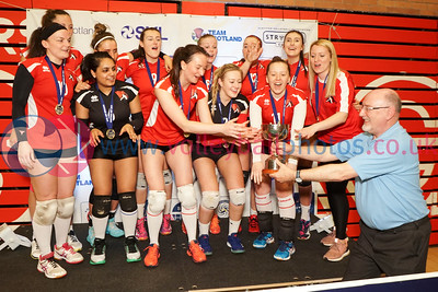 Su Ragazzi 3 v 0 University of Edinburgh (12, 23, 20), 2018 Women's Scottish Cup Final, University of Edinburgh Centre for Sport and Exercise, Sat 21st Apr 2018.  © Michael McConville   https://www.volleyballphotos.co.uk/organize/2018/SCO/Cups/2018-04-21-Womens-Cup-Final