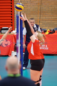 Troon Vets 3 v 0 Su Ragazzi II (17, 8, 21), 2018 Women's Scottish Plate Final, University of Edinburgh Centre for Sport and Exercise, Sat 21st Apr 2018.  © Michael McConville   https://www.volleyballphotos.co.uk/organize/2018/SCO/Cups/2018-04-21-Womens-Plate-Final