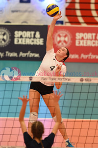 Marr College A 2 vs 0 Volleyball Aberdeen A (25-19, 25-12), Women's Under 18 Scottish Cup Final, University of Edinburgh, Centre for Sport and Exercise, 22 April 2018.  © Lynne Marshall  https://www.volleyballphotos.co.uk/2018/SCO/Junior-SVL/2018-04-22-Womens-U18-Cup-Final/