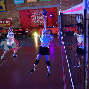 Glow in the Dark Volleyball, SVA Finals Weekend, University of Edinburgh Centre for Sport and Exercise, Fri 20th Apr 2018.