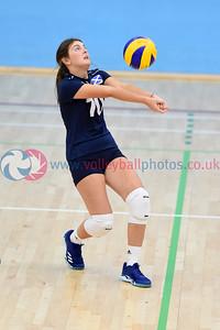 2018 Flying Scots International Invitational, St Andrews University Sports Centre, 1 September 2018.  © Lynne Marshall  https://www.volleyballphotos.co.uk/2018/SCO/NT/Junior-Women/2018-09-01-Flying-Scots-International-Invitational/