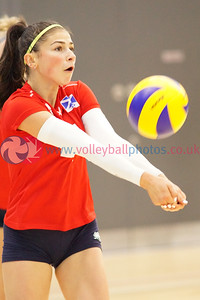 North West England 2 v 1 Flying Scots East (21-25, 25-20, 15-9), 2018 Flying Scots International Invitational, Girls Final, University of St Andrews Sports Centre, Sun 2nd Sep 2018.  © Michael McConville. View more photos at:  https://www.volleyballphotos.co.uk/2018/SCO/NT/Junior-Women/2018-09-02-flying-scots