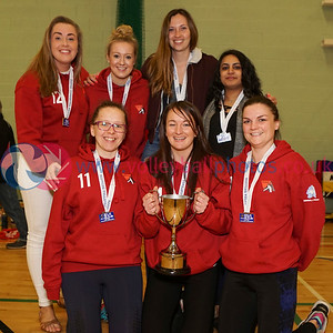 Women's SVL Premier League Presentation, Coatbridge High School, Sun 29th Apr 2018. © Michael McConville https://www.volleyballphotos.co.uk/2018/SCO/SVL/2018-04-29-SVL-Presentations